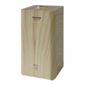 テクノス EL-C015(NB) 1L縦型加湿器 木目ナチュラルブラウン