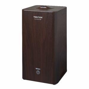 テクノス EL-C016(NB) 1L縦型加湿器 木目ダークブラウン