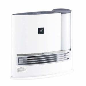 シャープ HX-H120-H 加湿セラミックヒーター プラズマクラスター7000 ハイブリッド式 ホワイト系/アイボリーホワイト