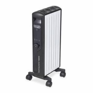 デロンギ MDHU09-BK マルチダイナミックヒーター 快適温度一定キープモデル 900Wモデル 6~8畳 ピュアホワイト+マットブラック