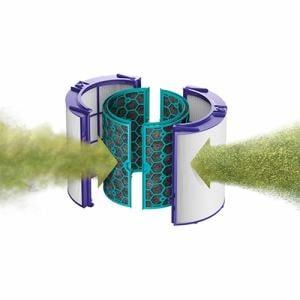 ダイソン HP04IBN 空気清浄ファンヒーター Dyson Pure Hoot+Cool  アイアン/ブルー