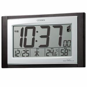 シチズン 8RZ096-023 デジタル電波時計 パルデジットコンビR096 濃茶木目仕上