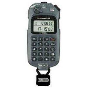 セイコー SVAX001 デジタルストップウオッチ、時間計算機能付き(最小測定単位1/1秒) サウンドプロデューサー