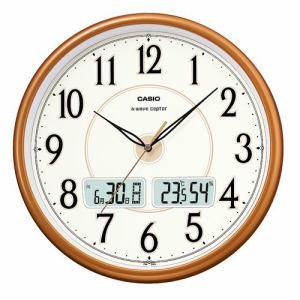 カシオ  ITM-200J-5JF  電波時計(壁掛け時計)  アナログ(湿度計 / 温度計)タイプ