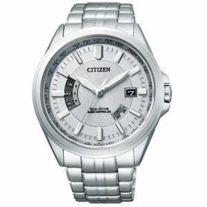 シチズン CB0011-69A エコ・ドライブ電波時計 多局受信型 針表示式