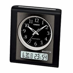 カシオ TQT-351NJ-1JF 電波時計(置き時計) アナログ(湿度計 / 温度計)タイプ