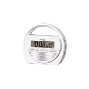 セイコー SQ764W セイコー置時計 目ざまし時計 多機能防災クロック