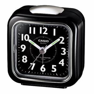 カシオ TQ157-1BJF 置き時計 LEDライト付きトラベルクロック
