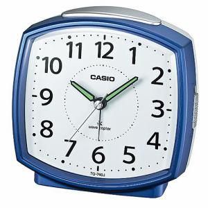 カシオ TQ-740J-2JF 電波時計(置き時計) アナログタイプ