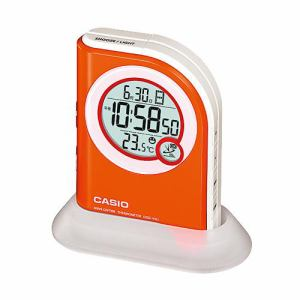 カシオ  電波時計(置き時計)  デジタル(温度計)タイプ  DQD-410J-JF