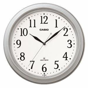 カシオIQ-1005J-8JF電波時計(壁掛け時計) アナログタイプ