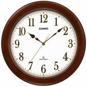 カシオIQ-1105J-5JF電波時計(壁掛け時計)  アナログタイプ