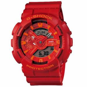 カシオ GA-110AC-4AJF G-SHOCK (Blue and Red Series) ブルー&レッドシリーズ
