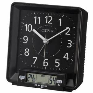 シチズン 8REA25-002 目覚まし時計 ナビゲートケア 温湿度計付(LCD表示)