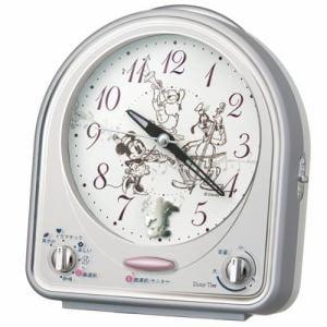セイコークロック FD464S キャラクター 目覚し時計 メロディアラーム(スヌーズ付) スイープ秒針 ライト付