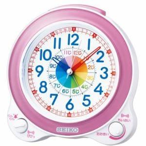 セイコークロック KR887P 知育目覚まし時計  ピンク