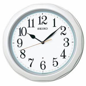 セイコー KX812W 掛け時計 電波クロック ベーシックモデル