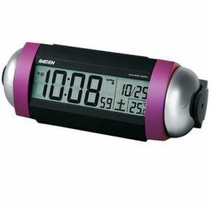 セイコークロック NR530P 電波目覚まし時計 RAIDEN ピンクパール塗装