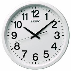 セイコークロック GP202W 衛星電波掛時計  白塗装