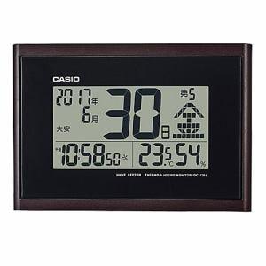 カシオ IDC-120J-5JF デジタル電波置時計 温・湿度表示 六曜表示 自立スタンド付
