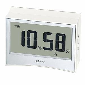 カシオ DQD-S01J-7JF 電波置時計 温・湿度計測機能 電子音アラーム(5段階変化) LEDライト付