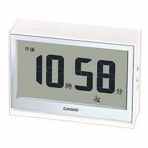 カシオ DQD-S02NJ-7JF 電波置時計 温・湿度計測機能 電子音アラーム(5段階変化) LEDライト付