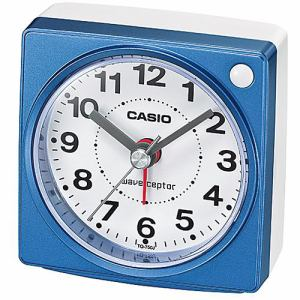 カシオ TQ-750J-2JF 電波目覚し時計 電子音アラーム(4段階変化) 秒針停止機能 ライト付