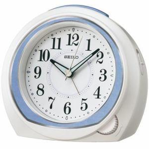 セイコークロック KR890L 目覚し時計 スヌーズ ルミブライト スイープセコンド