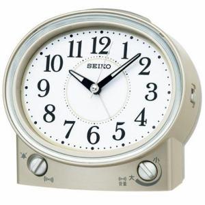 セイコークロック KR892G スタンダード 目覚し時計 ベル音・電子音切替式アラーム(スヌーズ付) スイープセコンド ライト付
