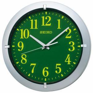 セイコークロック KX618S 掛時計 集光樹脂文字板 ステップセコンド