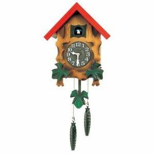 リズム時計 4MJ775RH06 からくり時計 カッコーメルビルR 茶