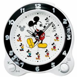 セイコークロック FD461W キャラクター 目覚し時計 切替式アラーム(スヌーズ付) スイープセコンド ライト付