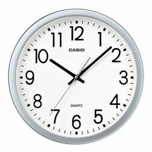 カシオ IQ-77-8JF 掛時計 メタリック塗装 スムーズ秒針 オフィスタイプ