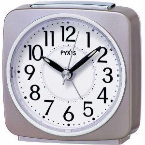 セイコークロック NR440P 目覚まし時計 PYXIS  薄ピンクパール塗装