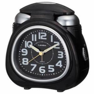 ランデックス YT5242BK 目覚し時計 スターベルST アナログ表示 スヌーズ機能 ライト付
