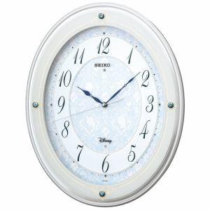セイコークロック FS502W キャラクター掛時計 SEIKO  白塗装光沢仕上げ