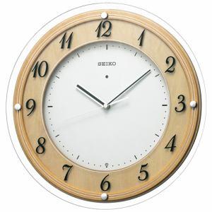 セイコークロック KX321A 電波掛け時計 スタンダード