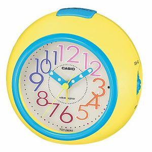 カシオ TQT-280NJ-9JF 置時計 ネオンイルミネーター スヌーズ機能 電波アラームクロック