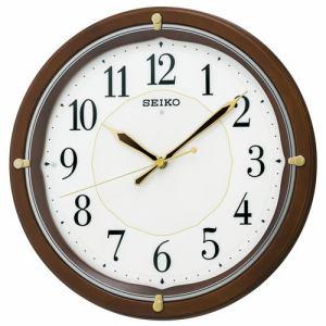 セイコークロック KX202B 夜でも見える 電波掛け時計(白色LED)