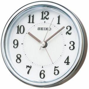 セイコークロック KR895S スタンダード 目覚し時計 薄金色パール塗装 電子音アラーム(スヌーズ) スイープセコンド