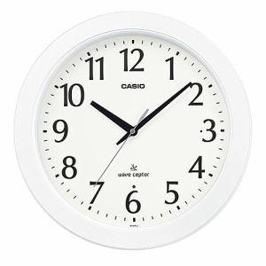 カシオ IQ-900FLJ-7JF 電波掛時計 秒針停止機能 フルブライト夜見えライト機能(強・弱選択可能)