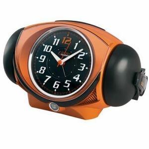 セイコークロック NR441E ウルトラライデン スイープセコンド 合成音アラーム 音量切替 目覚し時計(大音量)