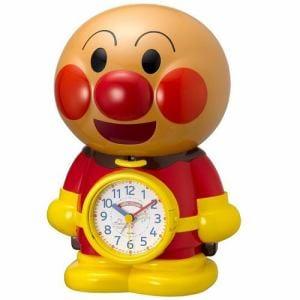 リズム時計 4SE552-M06 クオーツ目覚し時計 合成音アラーム ステップ秒針 アラームモニター付