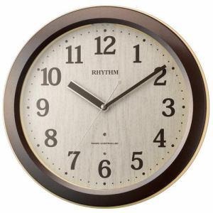 リズム時計 8RE658SR03 RHYTHM ピュアライトR658 クオーツ目覚し時計 電子音アラーム スヌーズ付