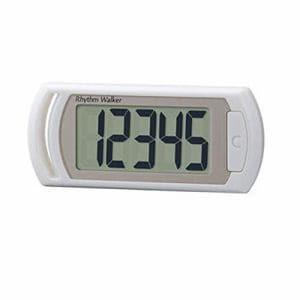 リズム時計 9ZYA07RH03 RHYTHM Walker リズムウォーカーラクティス 歩数計 歩数クリア機能付