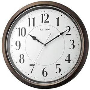 リズム時計 掛け時計 「オルロージュM800」 8MG800SR06