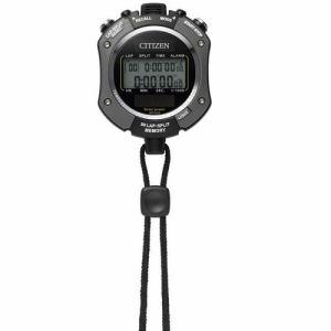 リズム時計 8RDA69-008 ストップウォッチ069 ソーラー電源ストップウォッチ(防滴タイプ) 時刻表示機能 電子音アラーム