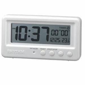 リズム時計 8RDA72SR03 RHYTHM アクアプルーフ デジタル時計 カレンダー表示 温度表示 タイマー機能付