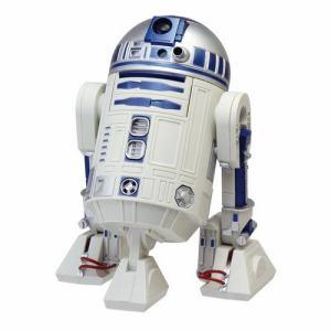 リズム時計 8ZDA21BZ03 R2-D2 アクション・アラーム・クロック 目覚し時計 合成音アラーム モニター機能付