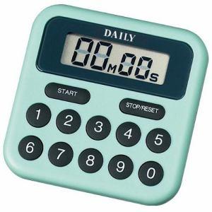 リズム時計 TT010DA05 DAILY タイマーBS デジタルタイマー 電子音アラーム 掛金具・マグネット付